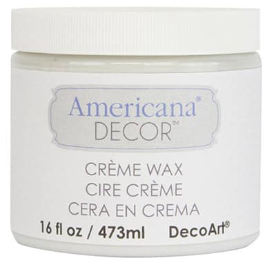 DecoArt Americana Decor Creme Wax - Best Wax Cream for Chalk Paint Review