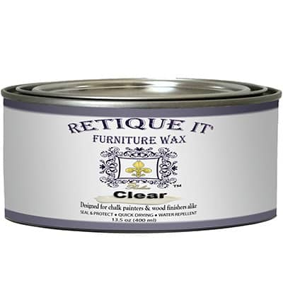 Retique It by Renaissance Clear Furniture Wax - Best All-Around Wax for Chalk Paint Review
